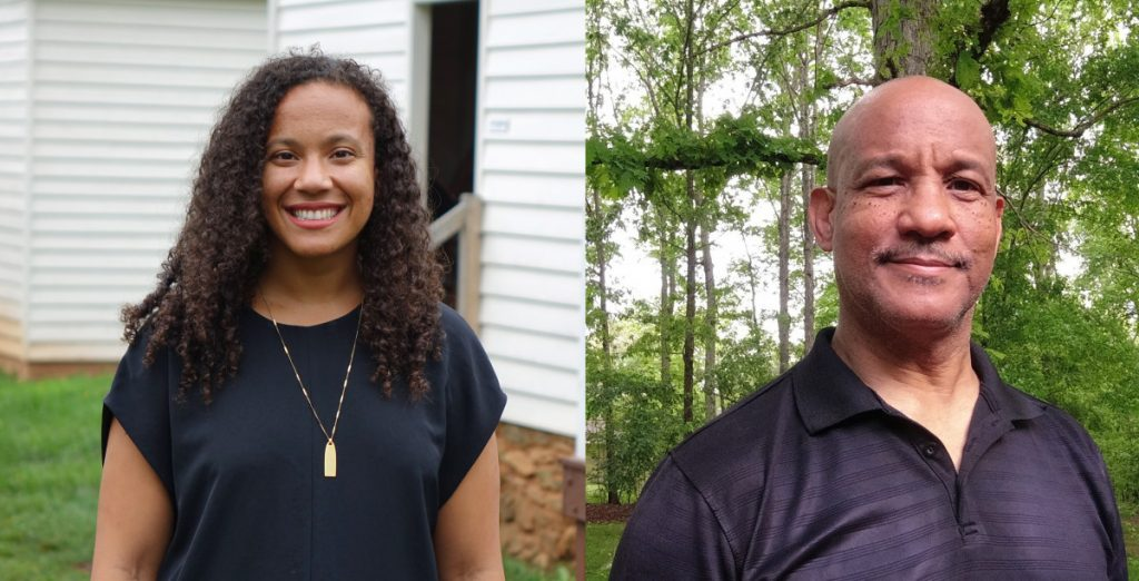 Hannah, left and her father Horace Scruggs will be navigating the waterways and black histories on the rivers of central Virginia.